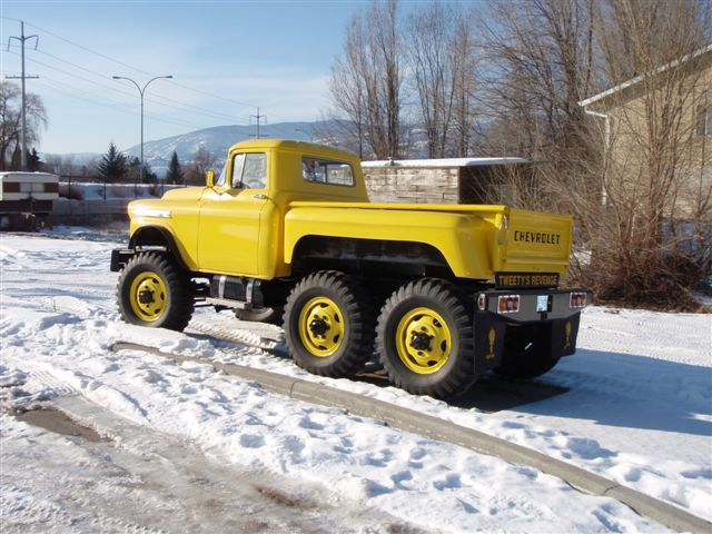 1959 Chevrolet Apache 38 6x6 Trucks For Sale From Kelowna