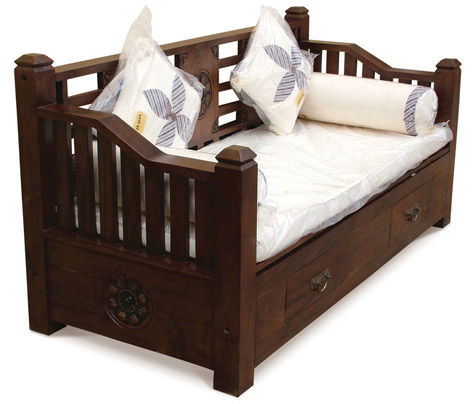 teakwood daybed with mattress new warehouse clearance sale sat sunday 1 30 6pm for sale in. Black Bedroom Furniture Sets. Home Design Ideas