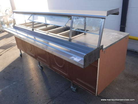 6 Well Steam Table Restaurant Equipment For Sale From