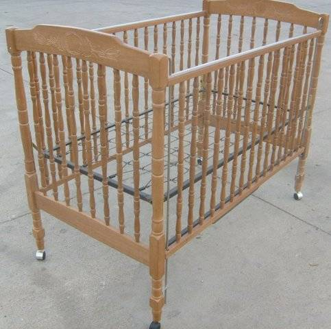Www Dfwfurniturestore Com Wood Crib By Million Dollar Baby FOR SALE From Fort