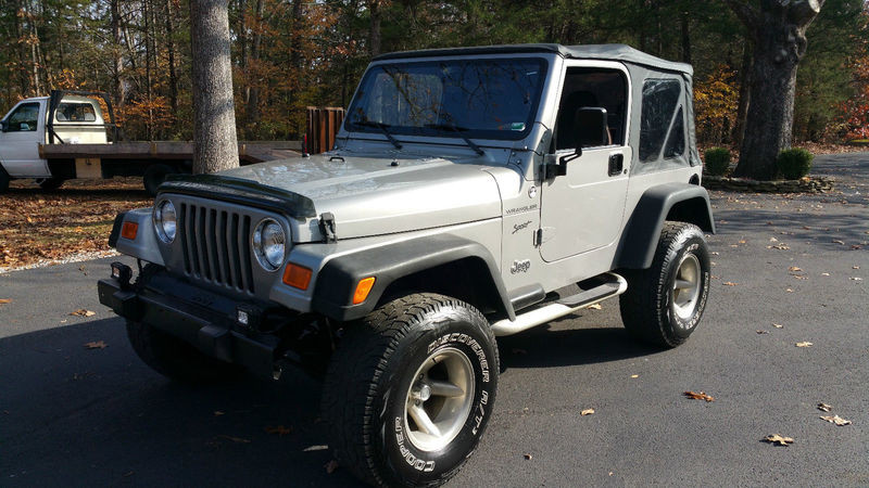 2002 jeep wrangler sport 4x4 for sale from kansas city missouri greene. Cars Review. Best American Auto & Cars Review