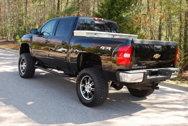 07 chevy silverado 1500 4x4 lifted clean carfax for sale from wake forest north carolina. Black Bedroom Furniture Sets. Home Design Ideas