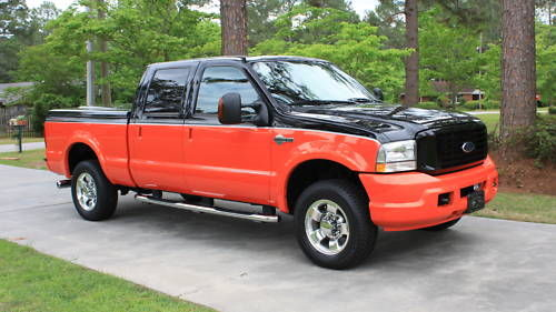 ~ 2004 Ford Harley Davidson F250 4X4 Crew Cab Awesome FOR SALE from