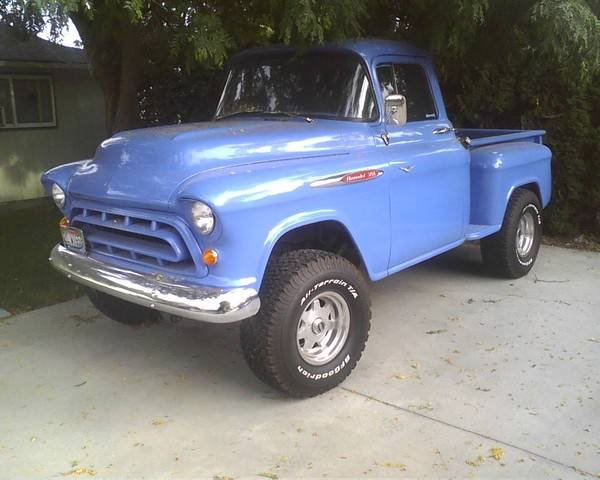 classic 1957 chevy pu 4x4 for sale from nampa idaho ada classifieds usa 872485. Black Bedroom Furniture Sets. Home Design Ideas