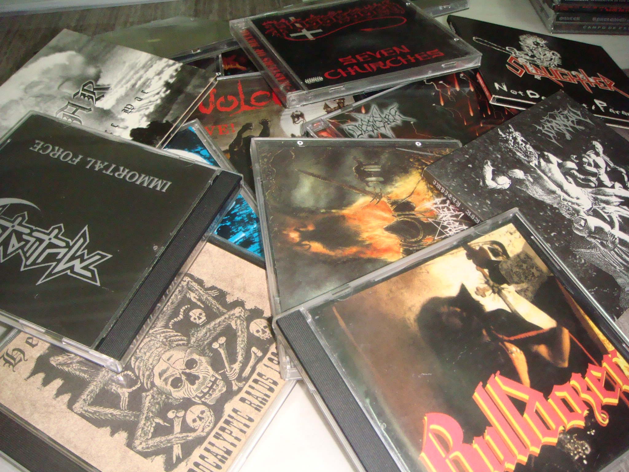 FOR SALE: Selling My Old Metal CDs Collection