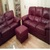 FOR SALE: Natuzzi Leather 3 Seater 2 Seater and Foot Stool - Quick Sale