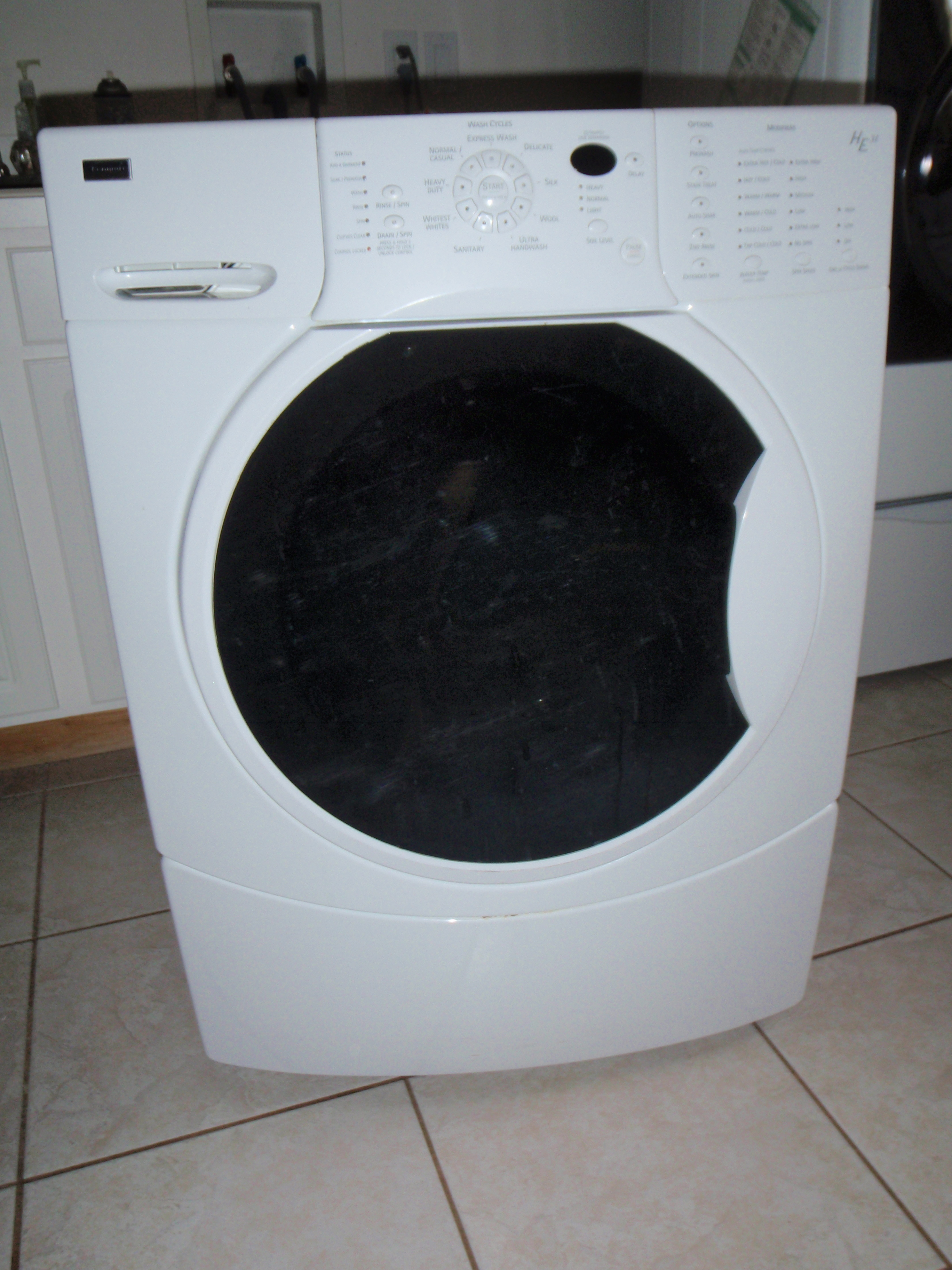 Kenmore elite he3t washer manual for Kenmore washer