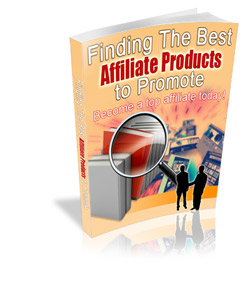 FOR SALE: Finding The Best Affiliate Products to Promote