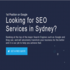 OFFERED: SEO SYDNEY