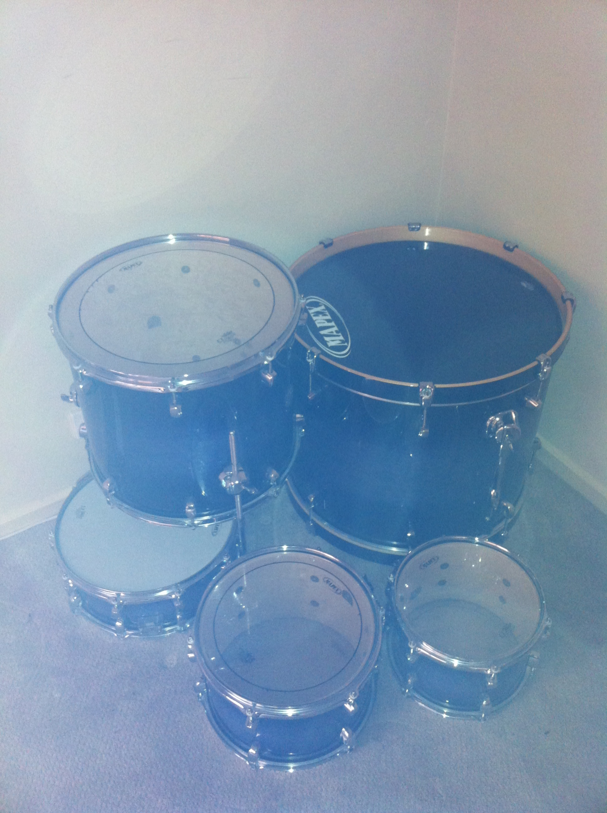 FOR SALE: 5pc Mapex Meridian Maple (shell kit)
