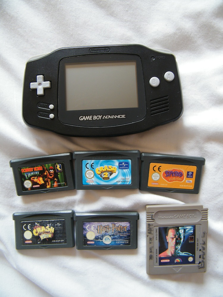 FOR SALE: Gameboy Advance AND GAMES!