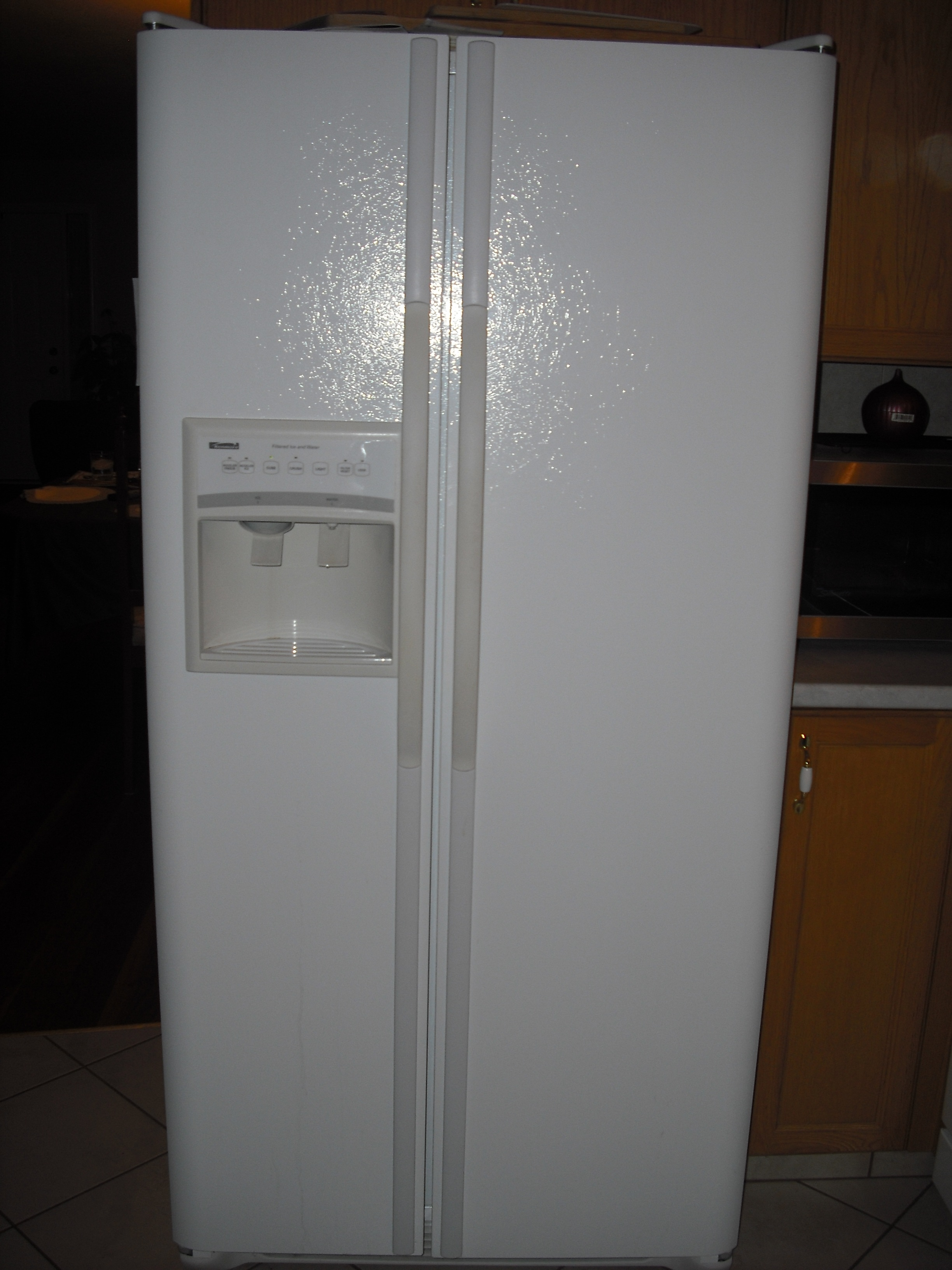 FOR SALE: Kenmore 24cbft ice and water dispenser
