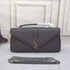 FOR SALE: New Arrival: YSL Monogramme Chevron Flap Bag Only In $165