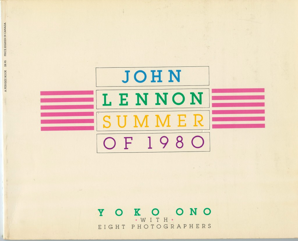 FOR SALE: JOHN LENNON SUMMER OF 1980- FIRST EDITION