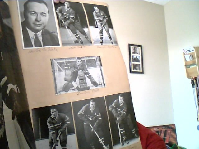 FOR SALE: Montreal Canadien 1960/61 Hockey team