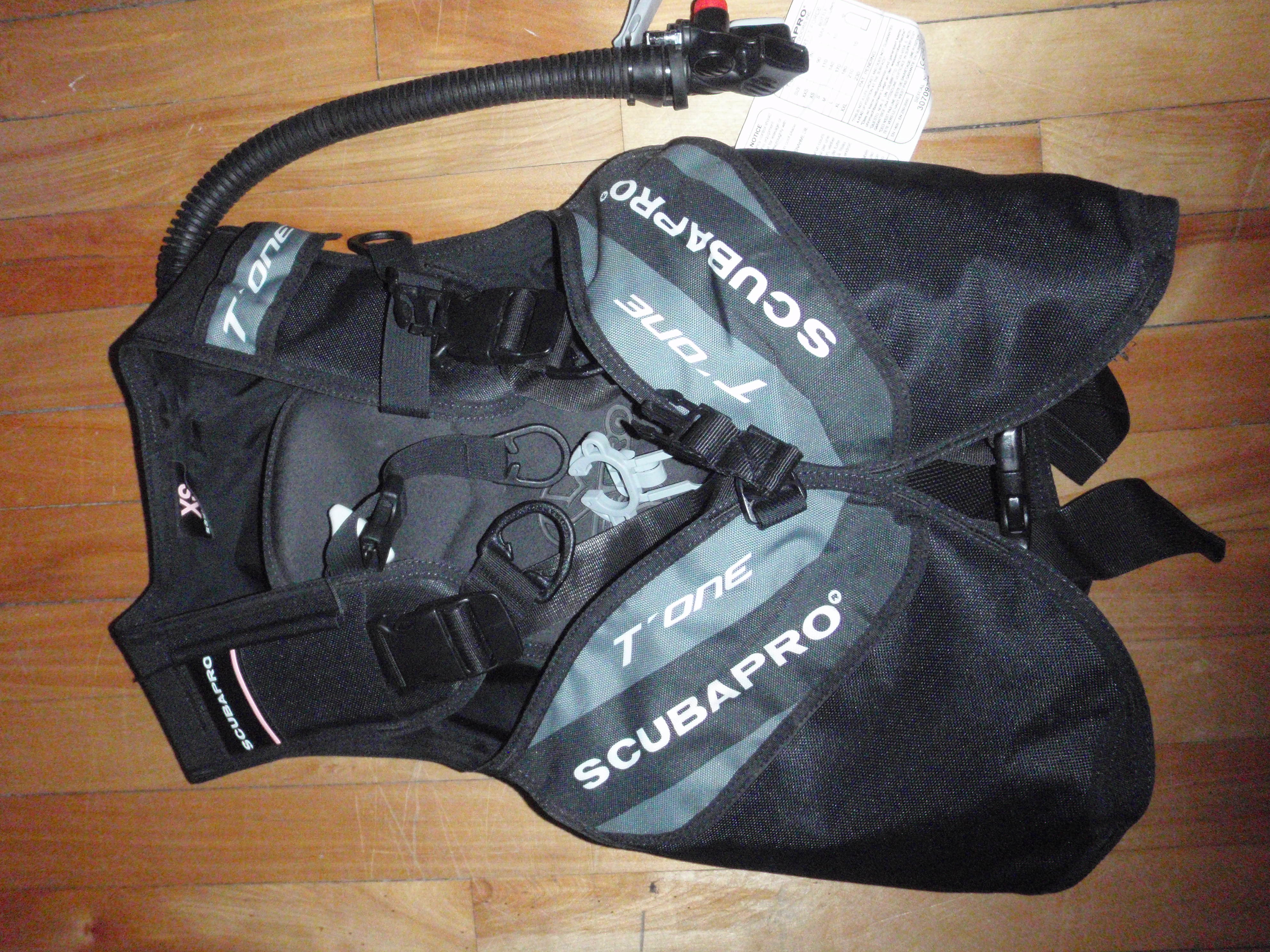 FOR SALE: ScubaPro T-One BCD 2009 - $150