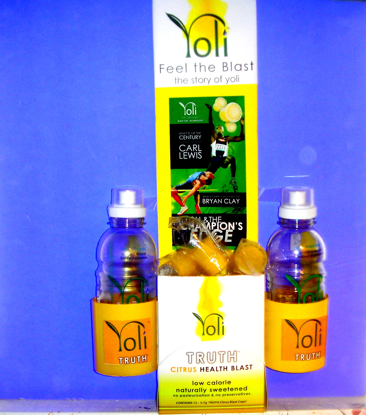 OFFERED: $120.00 IN FREE YOLI PRODUCT AND A FREE YOLI DISPLAY