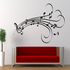 FOR SALE: Musical notes design wall art