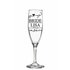 FOR SALE: Wedding champagne glass decal sticker