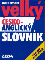 FOR SALE: Comprehensive Czech - English Dictionary