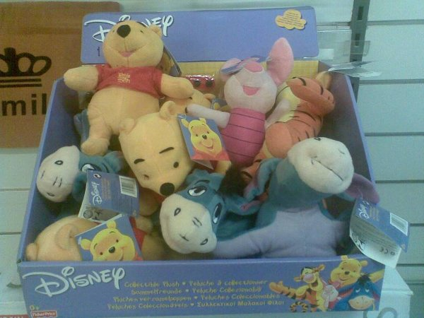FOR SALE: RETOURWARE24 Disney soft toys clearance stock
