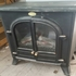 FOR SALE: Black Electric fireplace