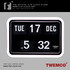 FOR SALE: Retro Flip Clock (TWEMCO BQ17) For Sale! Discount Up To 30%!