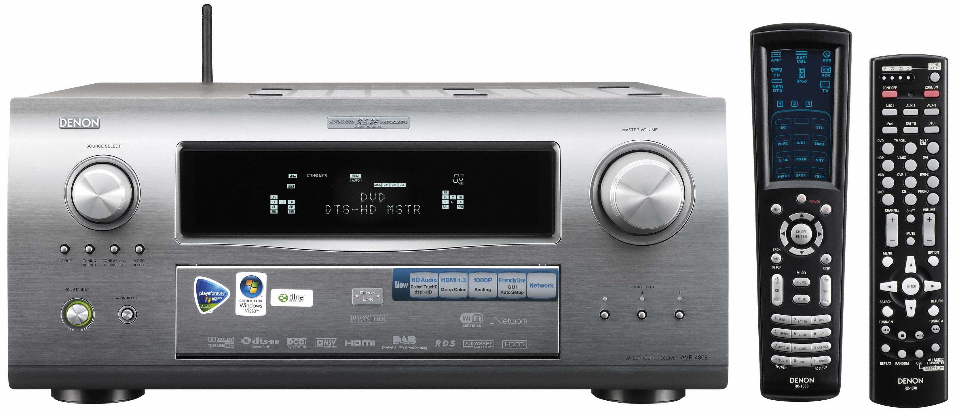 FOR SALE: For Sale: Used Mint condition Denon AVR-4308