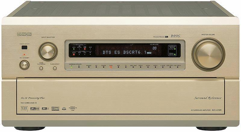FOR SALE: For Sale: Used Denon AVC-A1SR (AVR-5803 in the U.S.A) Mint Gold Color