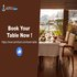 SERVICES: Free Restaurant Table Reservation With Discounts And Offers In Lucknow