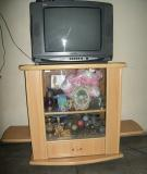 FOR SALE: T.V Trolly cum Showcase with Glass in front, Speaker Holder -Excellent Condition