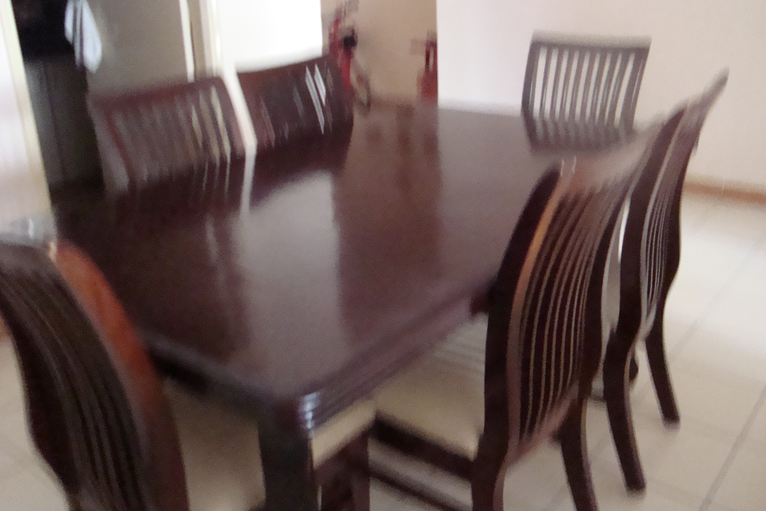 FOR SALE: Dining Table and Sofa with Centre table for sale