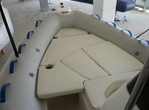 FOR SALE: fiberglass inflatable boat with CE certificate
