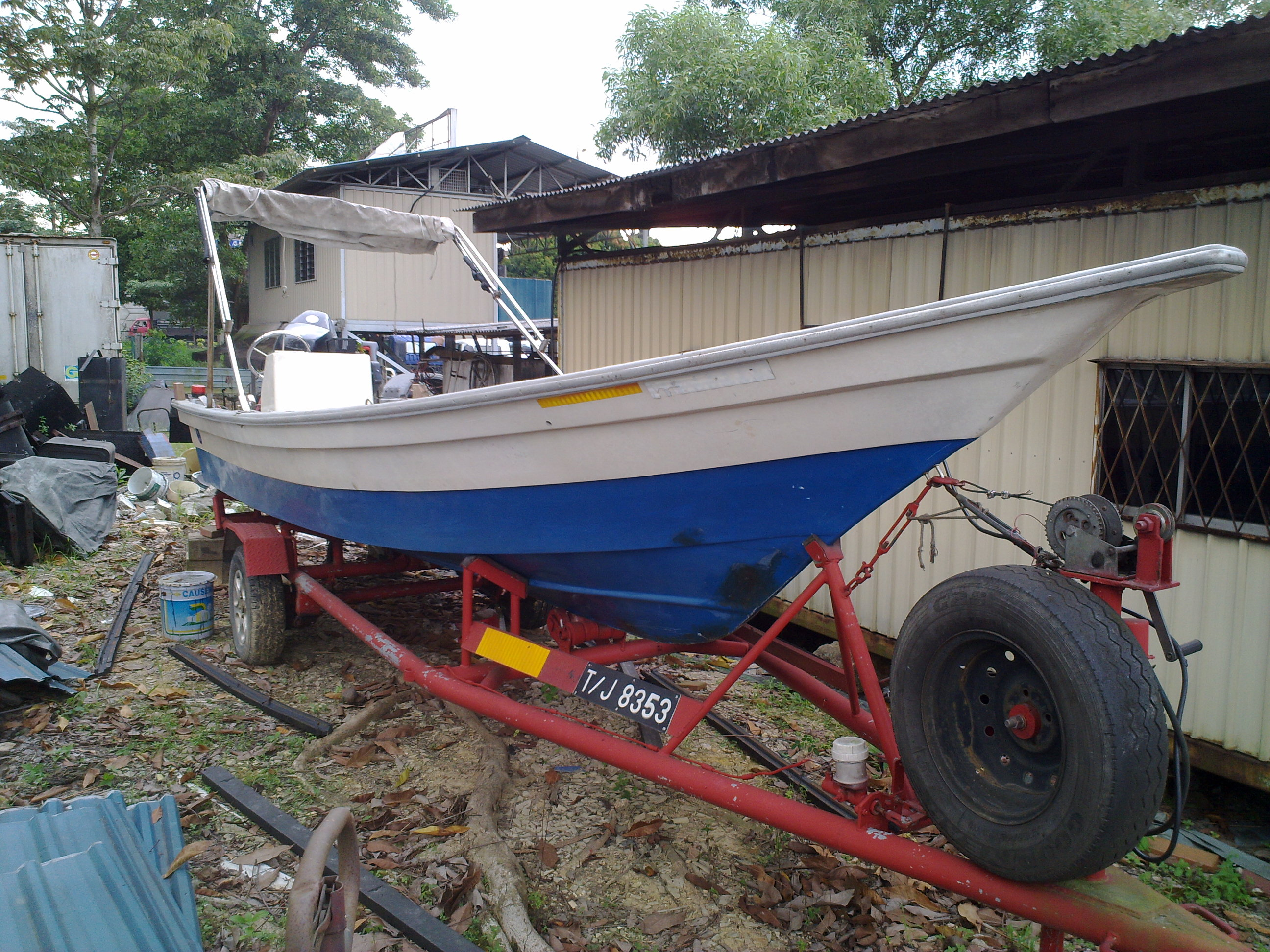 FOR SALE: Fishing boat 24 Feet !
