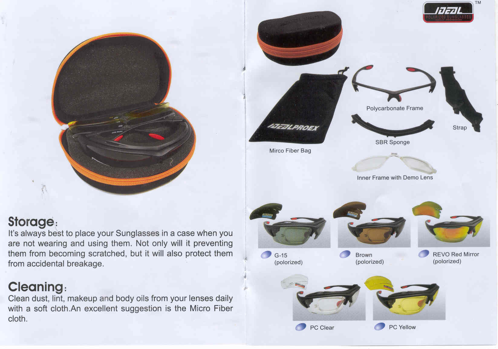 FOR SALE: Sports Sunglass with Changeable Polorized and Prescription lenses