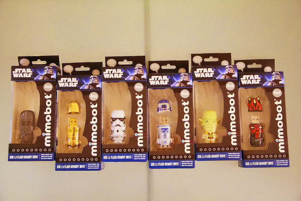 FOR SALE: Star Wars Mimobot Flash Pen Drive 4GB