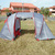 FOR SALE: Affordable Lightweight 4 Man Dome with Hall Tent For Sale