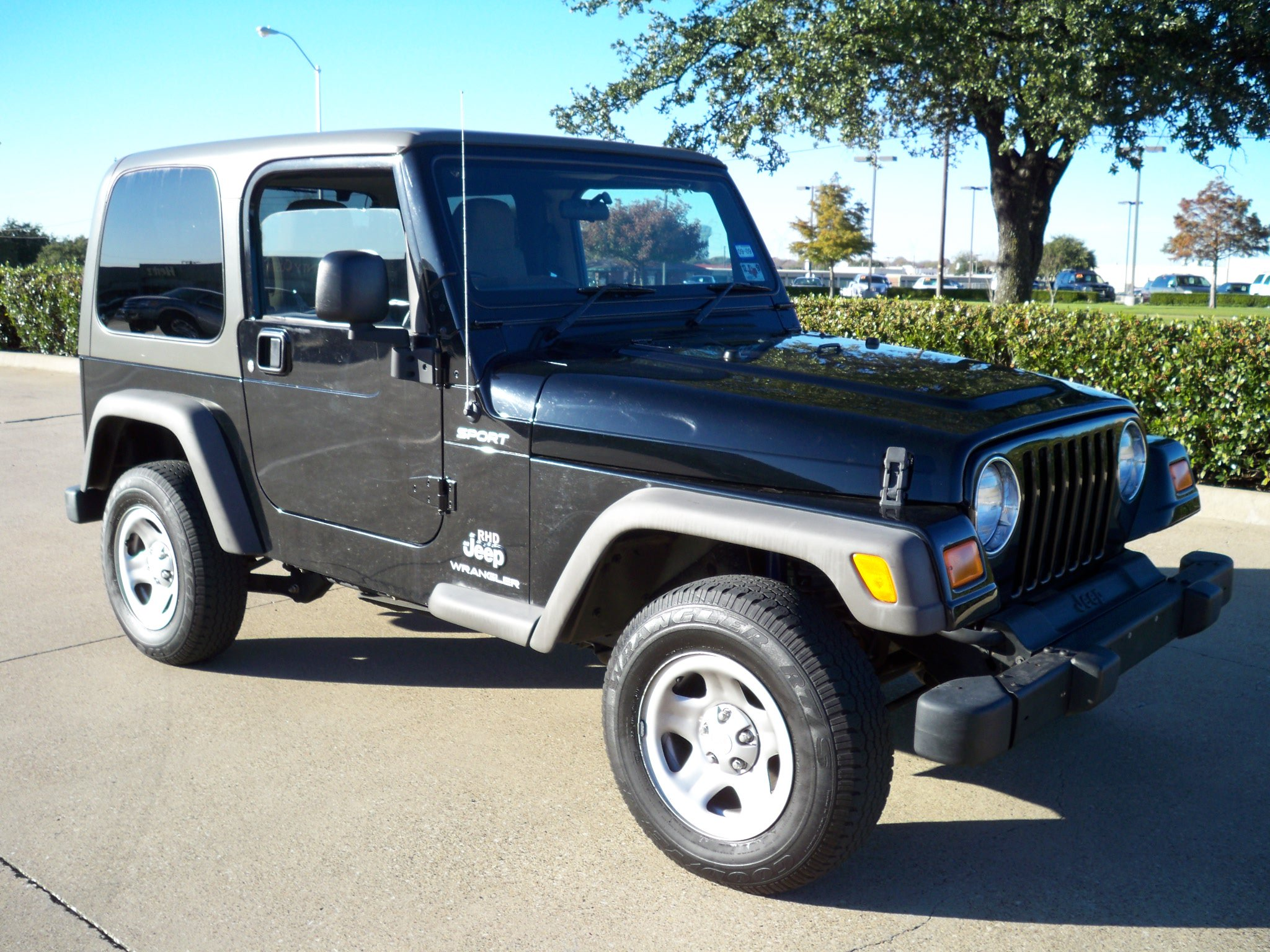 FOR SALE: 2006 Jeep Wrangler Sport