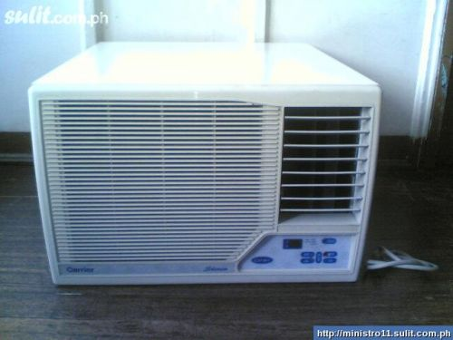 FOR SALE: CARRIER 2HP/2.5HP WINDOW P11,500 NEW MDL BNEW COND! SEE AND COMPARE!