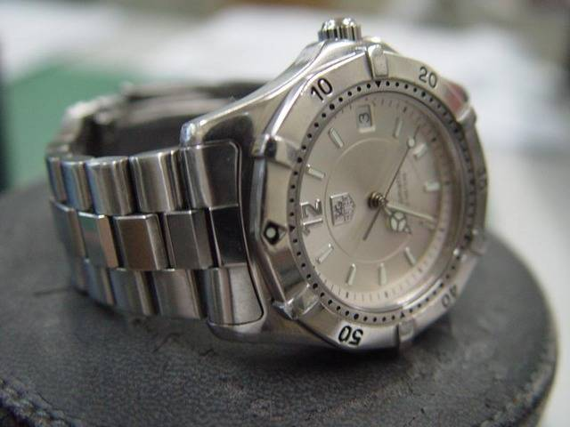 FOR SALE: tag heuer 2000 series automatic full size for men