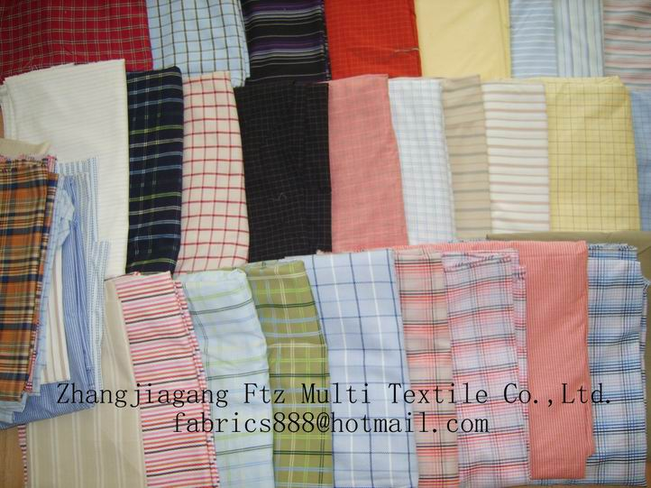 FOR SALE: sell yarn dyed shirting fabric
