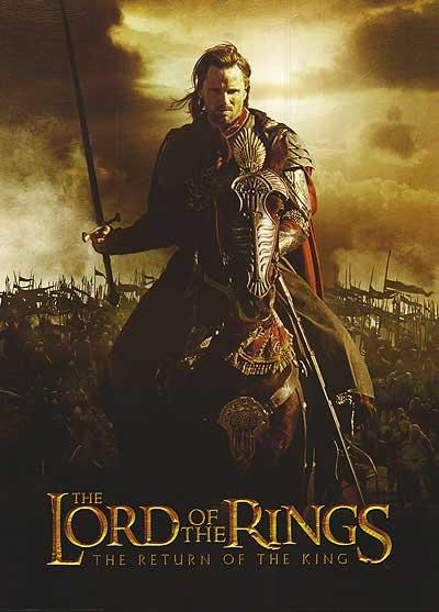 FOR SALE: Autographed Lord of the Rings The Return of the King poster