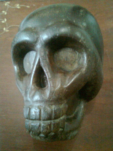 FOR SALE: IGOROT WOOD SKULL