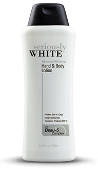 FOR SALE: Be Seriously White with SW Hand & Body Lotion