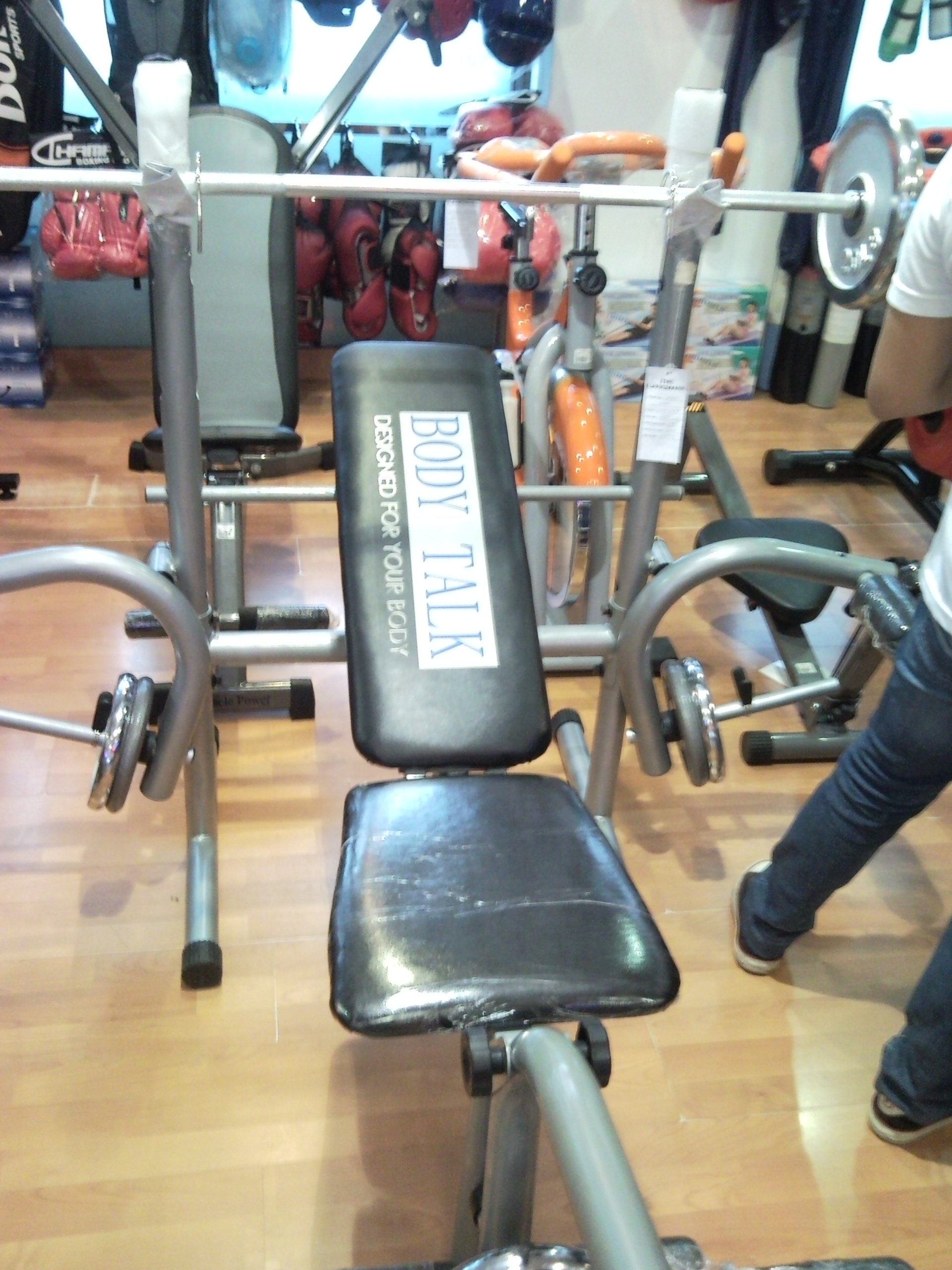 FOR SALE: Bench Press (BODY TALK) **SOLD**
