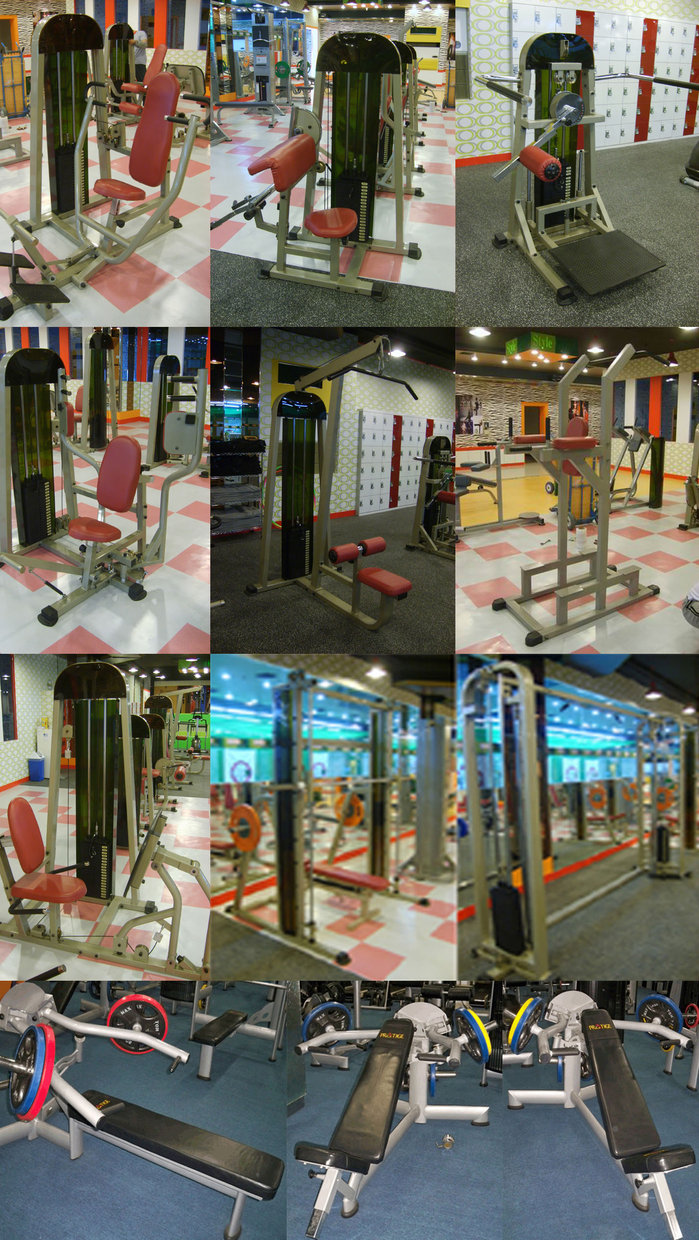 FOR SALE: Imported gym fitness equipments for sle