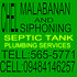SERVICES: CHEL MALABANAN SERVICES TELL:565-5771 CELL:09484146257