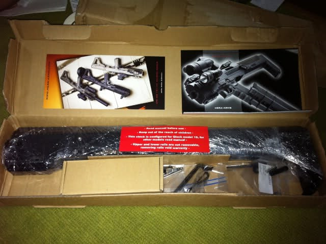 FOR SALE: Glock Hera-arms carbine conversion kit