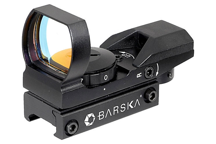 FOR SALE: BNEW BARSKA Electro Sight Multi Reticle Red Dot Sight