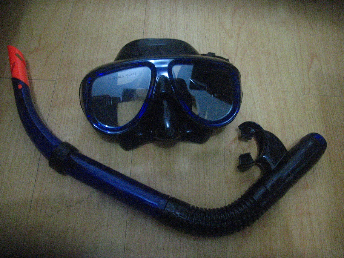 FOR SALE: Brand New Catic Snorkel (the tube) and Mask Sale for P475 only.